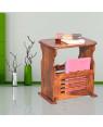 Solid Wood Basket Crockery