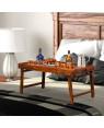 Sheesham Wood Foldable Breakfast Bed Tray Table