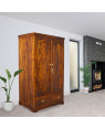 Solid Meetu Sheesham Wood Wardrobe