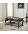Wooden Striado Center Table
