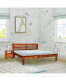 Sheesham Wooden Home Lynet Bed Without Storage