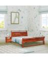 Sheesham Wooden Home Denzel Bed Without Storage
