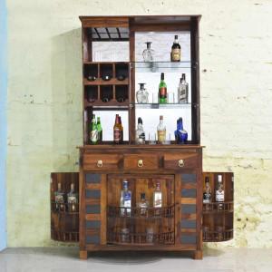 Solid Sheesham Wood Bar