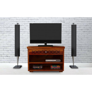 Sheesham Wood CNC TV Stand