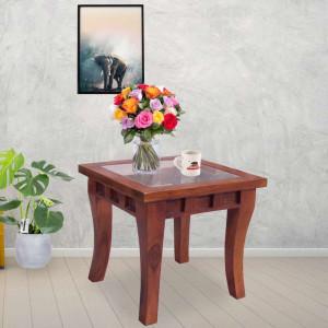 Wooden Deux Peg Side Table
