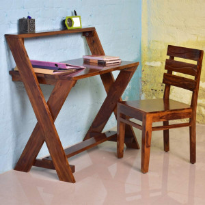 Solid Wood Perig Office and Study Table