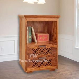 Sheesham Wooden Bedside Table