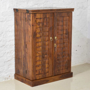 Solid Wood Caledonia Bar Cabinet