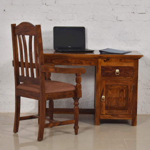 Solid Wood Claire Study and Office Table
