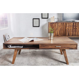 Solid Sheesham Wooden Center Table