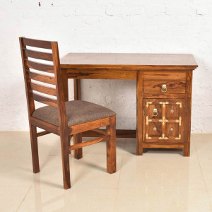 Solid Sheesham Wood Study and Office Table