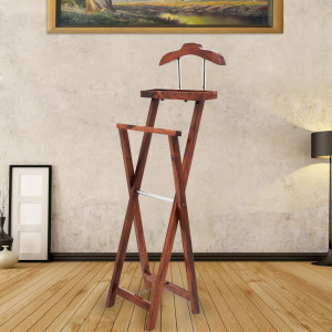 Solid Wood Cap Stand and Coat Hanger