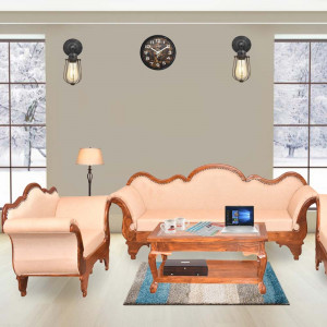 Solid Wooden Traditional Rajasthani Sofa Set