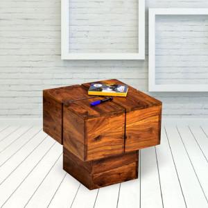 Zumbo Wooden Peg Side Table