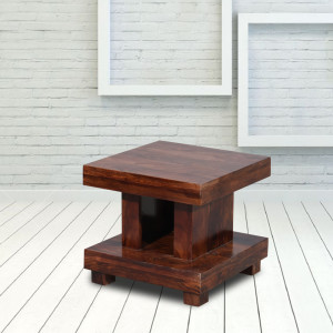 Kingsley Solid Sheesham Wooden Peg Table