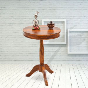 Adolph Tall Round Peg Table
