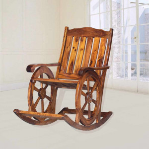 Sheesham Wooden Harold Roking Chair