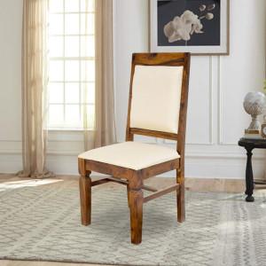 Solid Wood Peshtigo Back Cloth Dining Table and Chair