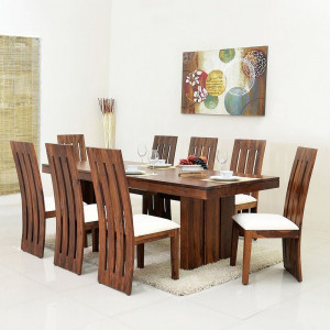 Sheesham Wooden Four Chip Dining Table