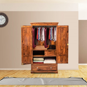 Sheesham Wooden Wardrobe