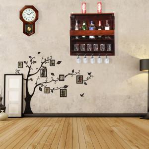 Wooden Wall Hanging Design Bar