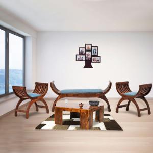 Solid Sheehsham Zeus Sofa Set