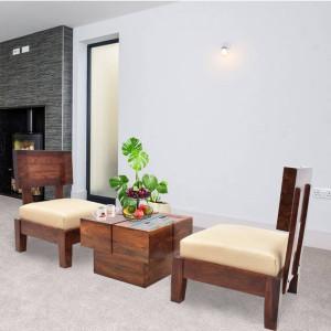 Sheesham Wooden Avilys Sheesham Sofa