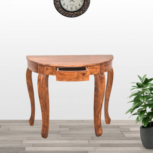 Round Console Table