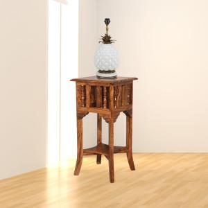 Sheesham Wooden Lamp Stand