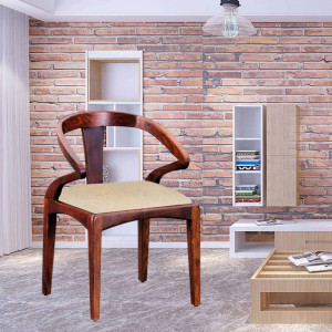 Solid Easy Chair for Home decor