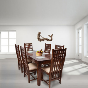Sheesham Wooden Hi Chair Dining Table