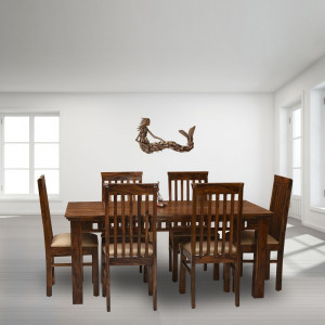 Solid Sheesham Wooden Dining Table
