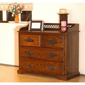 Solid Sheesham Wooden Chest of Drawer