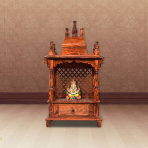 SOLID WOODEN TEMPLE