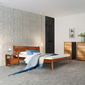 Sheesham Wooden Home Bacon Bed Without Storage
